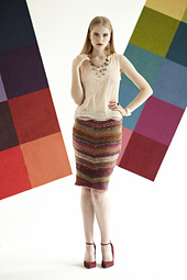 #27 Chevron Pencil Skirt PDF