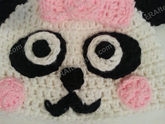 Free Knitting Pattern for Cable Baby Beanie Hat in Debbie