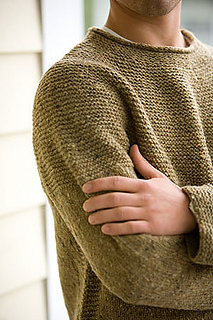 Modello di pullover ai ferri
