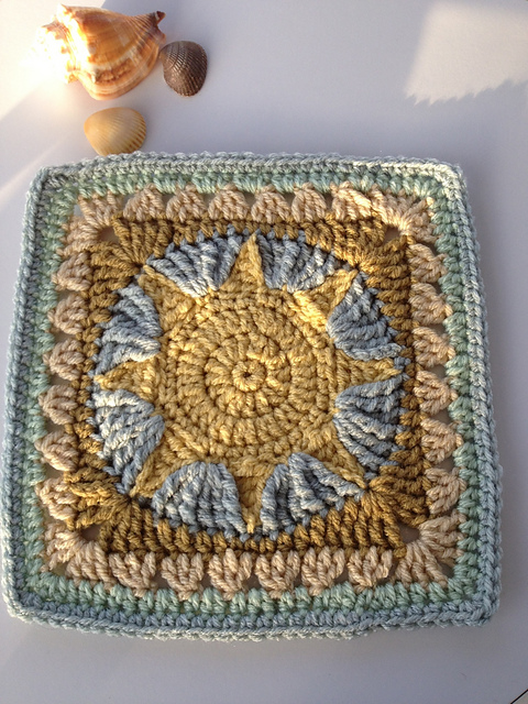 5 Interesting Non Traditional Crochet Square Patterns