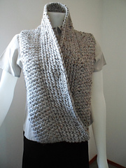 Crochet Shawl Patterns Bulky Yarn : Ravelry: Crocheted Infinity Scarf Pattern Plain or Striped ...