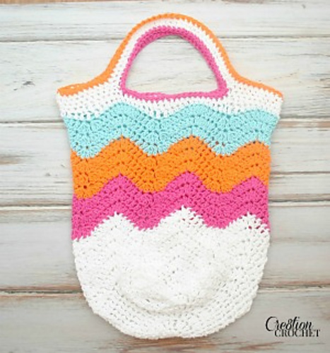 Free Crochet Chevron Purse Pattern : Obscure Pattern Friday - Purses and bags! : crochet