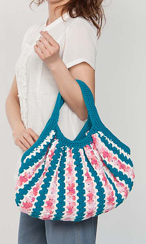 Pierrot Yarn Free Crochet Patterns : Ravelry: Ami Cotton Purse pattern by Pierrot (Gosyo Co., Ltd)