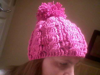 Cables_hat_-_pink_with_pompom_small2