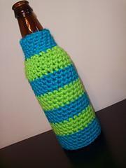 Crochet Patterns For Koozies : Ravelry: Crocheted Beer Bottle Koozie pattern by Jamie L ...