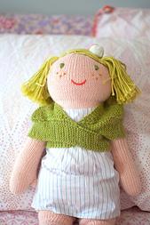 Comfort of a Friend Doll Shawl PDF