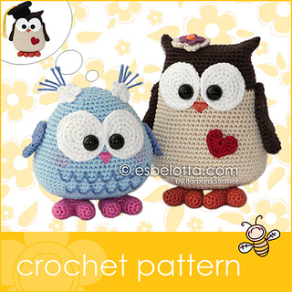 Free Crochet Pattern Small Owl : 130 Adorable Free Crochet Animal Patterns! Nifymag.com