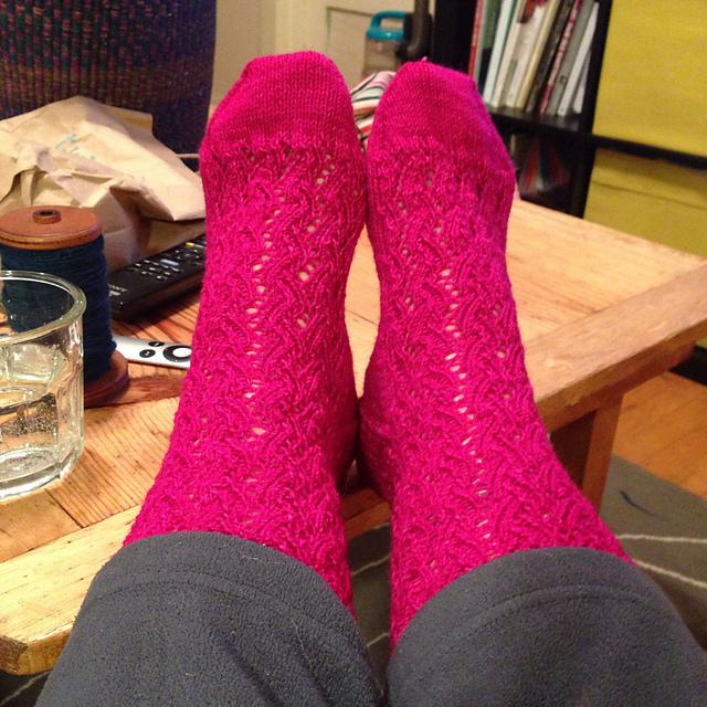 Bjork Socks by Cookie A
