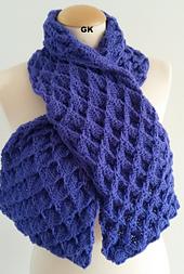 Ravelry: GIEZEN Scarf Shawl Cowl Hand Knit Butterfly pattern by Jen Giezen