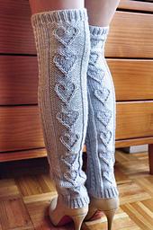 Cable Knit Leg Warmers Knitting Pattern : Ravelry: