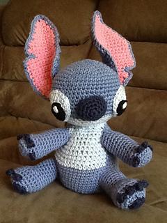 Ravelry: Amigurumi Stitch! from Lilo and Stitch pattern by ...