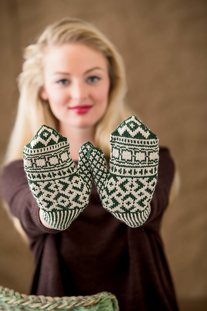 Minaret Mittens by Kathleen Sperling