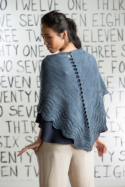 Stepping Stones Shawl