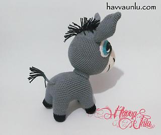 Amigurumi Orkide Tarifi : Ravelry: Donkey Pattern pattern by Havva unlu