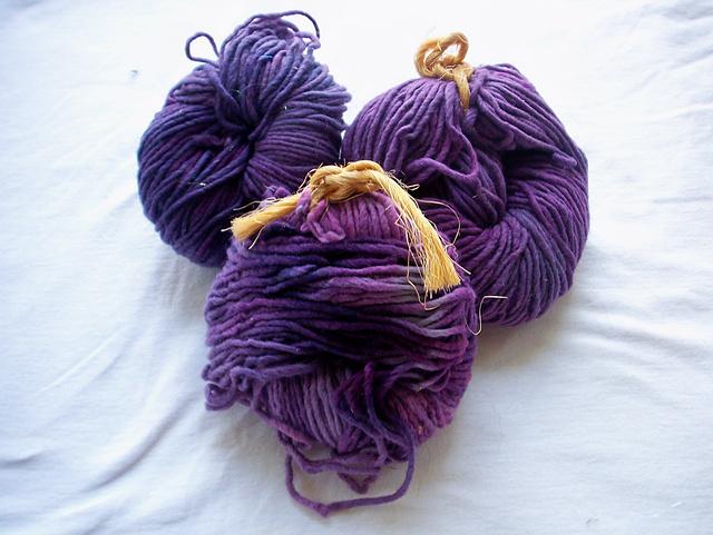 Andy's Farmhouse Merino in Purple