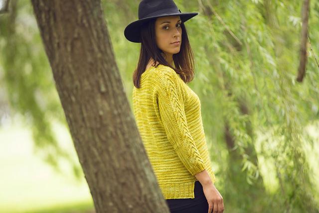 丝毛套头衫- 仿 Manzanilla+ Infinity cowl - Tina - Tina的手工编织的博客