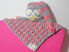 Ravelry: Sleepy the Owl security blanket pattern pattern ...