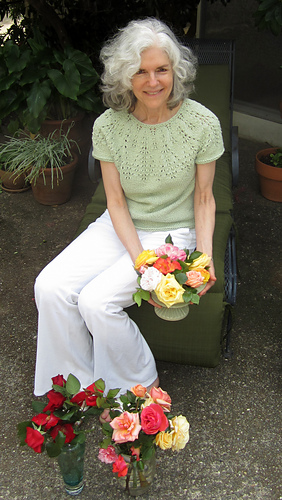 03_kimmy_in_patio_arranging_easter_roses
