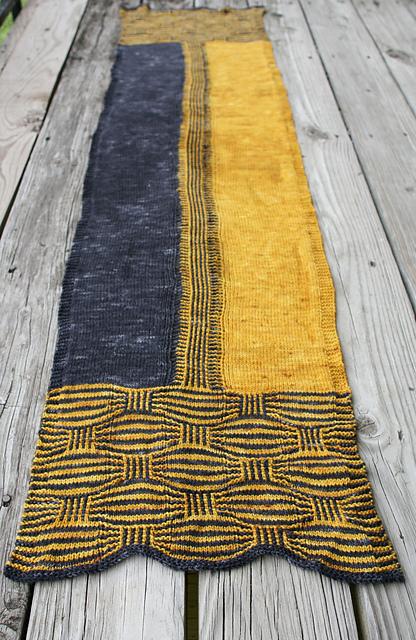 trickery - a knit stole
