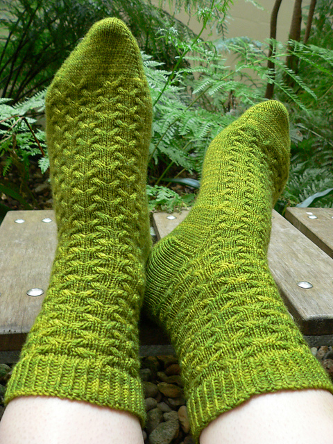 Nagini Toes (photo taken direct from Ravelry)