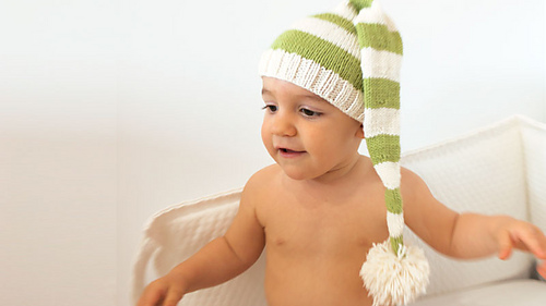 Baby Elf Knitting Pattern : Ravelry: Elf Hat pattern by Lanasyovillos official