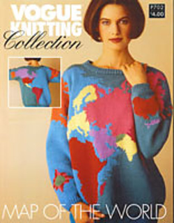 ravelry vogue knitting collection 702 map of the world