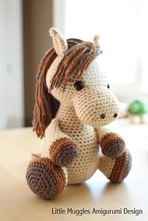 Amigurumi Year Of The Horse : Ravelry: Amigurumi Horse -