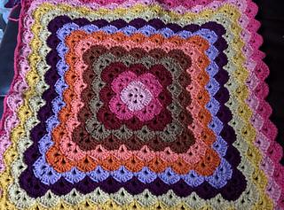 Shells Of Love Crochet Baby Blanket Pattern : Ravelry: Beautiful Shells Blanket pattern by Lahoma Nally-Kaye