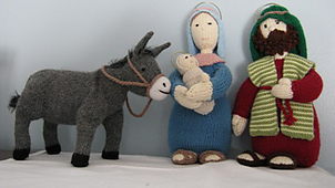 Knitted Nativity Scene Free Pattern : Ravelry: Nativity set pattern by Alan Dart