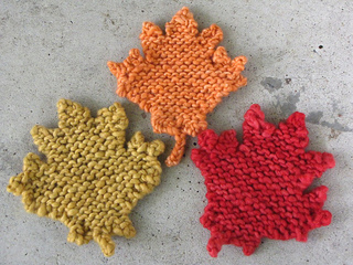 Ravelry: Maple Leaf Knitting Pattern pattern by Linda Dawkins