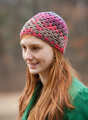 Easy Crocheted Hat PDF