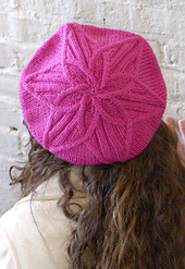 Cable Flower Hat PDF