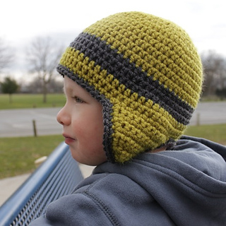 Newborn Crochet Hat Pattern With Ear Flaps : Ravelry: Versatile Earflap Hat Pattern pattern by Micah York