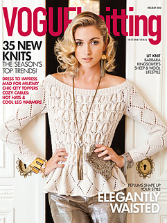 Vogue Knitting : patterns > Vogue Knitting > Vogue Knitting, Holiday 2012