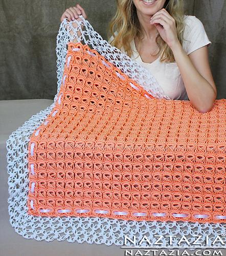 Broomstick Lace Blanket