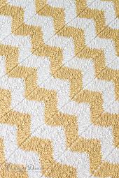 Cool Chevron Baby Blanket | AllFreeCrochetAfghanPatterns.com