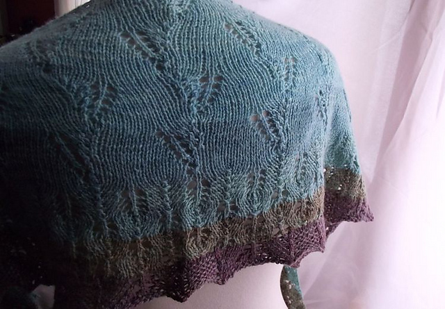 duskywing shawl knitting pattern