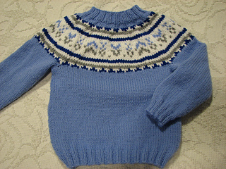 Ravelry Prince George Christmas Pullover 2015 Pattern By