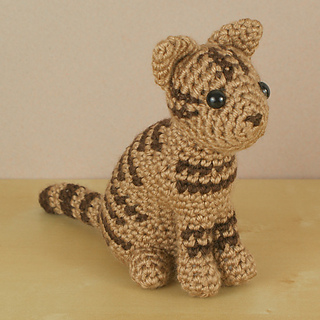 Amigurumi Crochet In The Round : Ravelry: AmiCats Tabby Cat pattern by June Gilbank