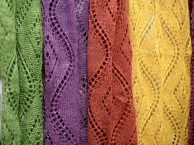 Seascape-海景蕾丝围巾-原文图解 - Tina - Tina的手工编织的博客