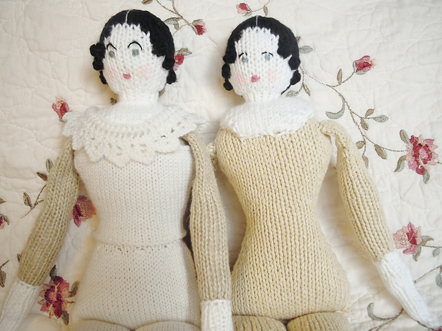 Kathleen Dames Quick Purly 5 Dolls