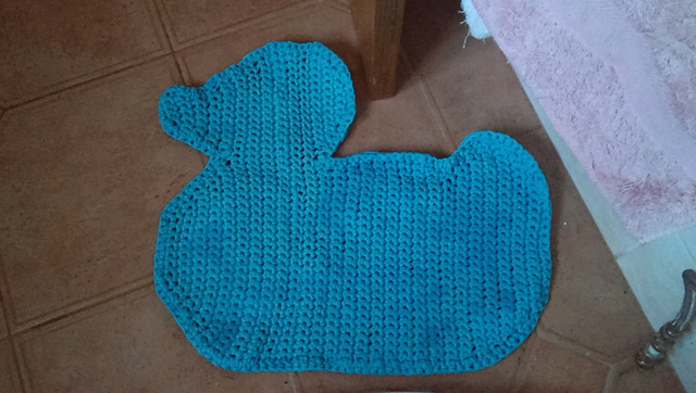 Duck Bathmat by Sara