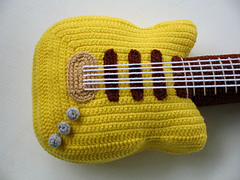 Ravelry: Crochet Pattern - ELECTRIC GUITAR pattern by Sky ...