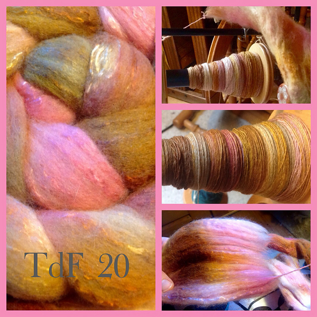 TdF 20: merino/silk in sugarsweet colours
