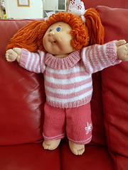 Ravelry Cabbage Patch Doll Clothes Pattern By Jessica Tromp