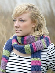 Super Stripes Scarf PDF