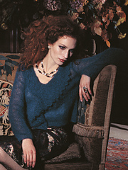 Rosa Lace Collar Pullover PDF