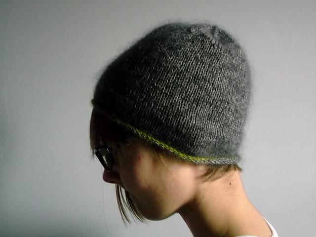 针织:羊绒帽子(没有任何技术含量) - maomao - 我随心动