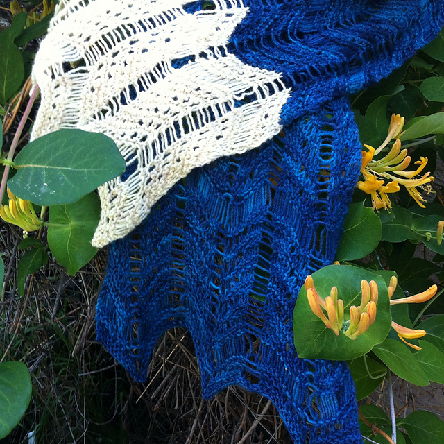 Alban Hefin Scarf by Susan Elizabeth of Crescent Moon Collective