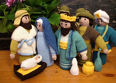 Knitting Patterns Nativity Free : Ravelry: Nativity figures pattern by Susie Johns